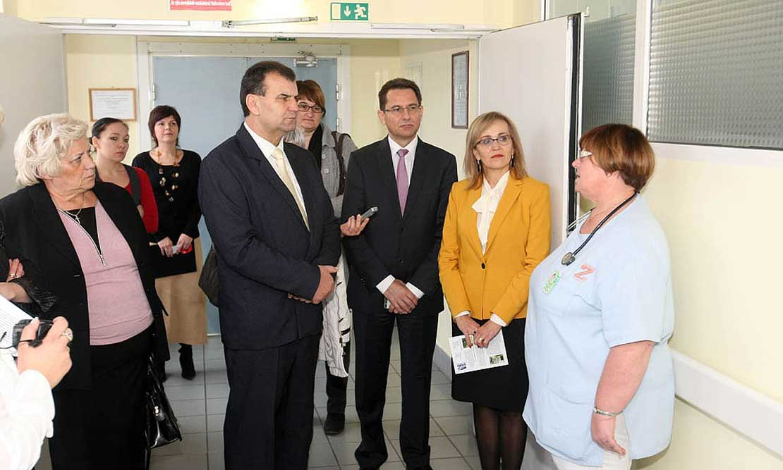 Újabb fejlesztések a Zala megyei kórházban