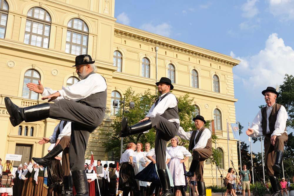 Nemzetközi Néptáncfesztivál Szegeden
