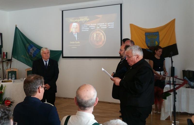 Nemzetiségekért Díjat kapott Dudás Gyula – A horvát út formálója