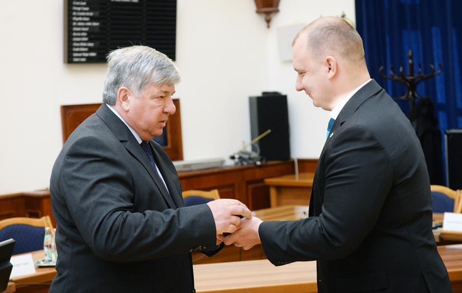 Dr. Jakab István Emlékgyűrűt vehetett át Zám Ferenc