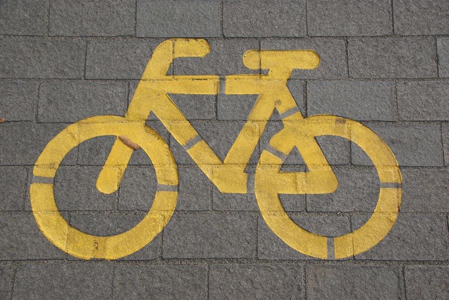 Kerékpárút épült a szatmári Csengerben
