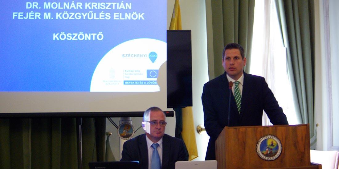 Fejér megyében már 33,5 milliárd forint Ginop-forrást ítéltek oda