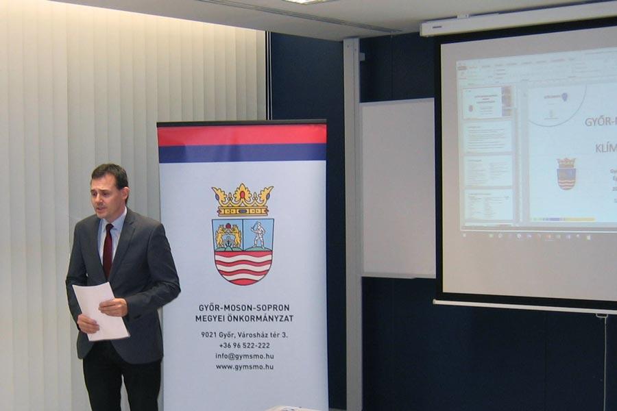 Napirenden a megyei klímastratégia társadalmasítása Győr-Moson-Sopronban