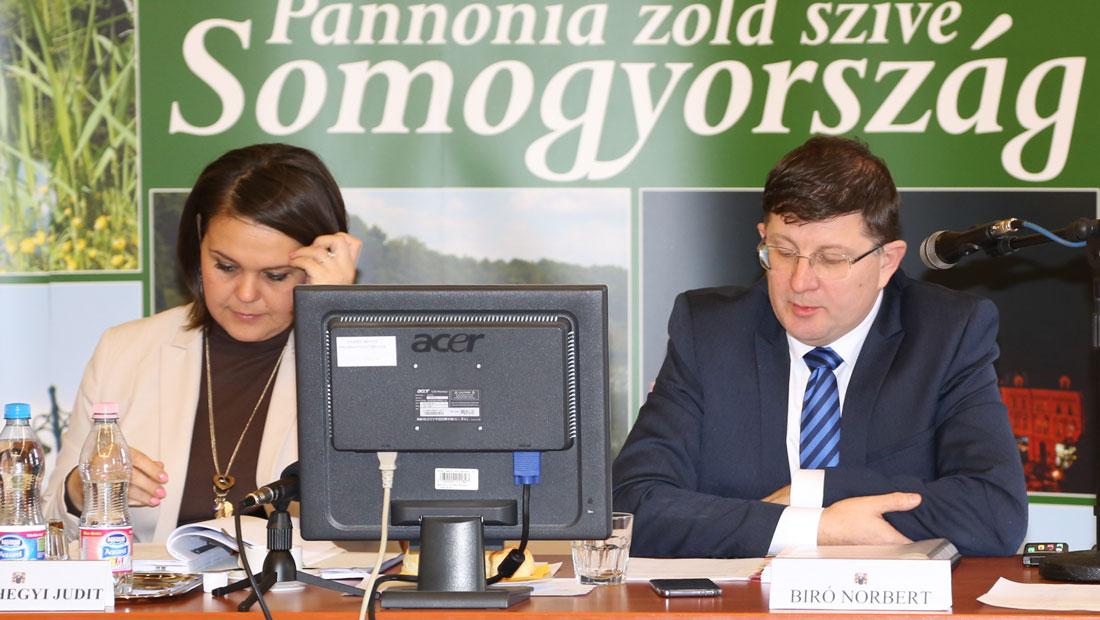 Bemutatkozott az új Somogy megyei főkapitány a közgyűlésnek