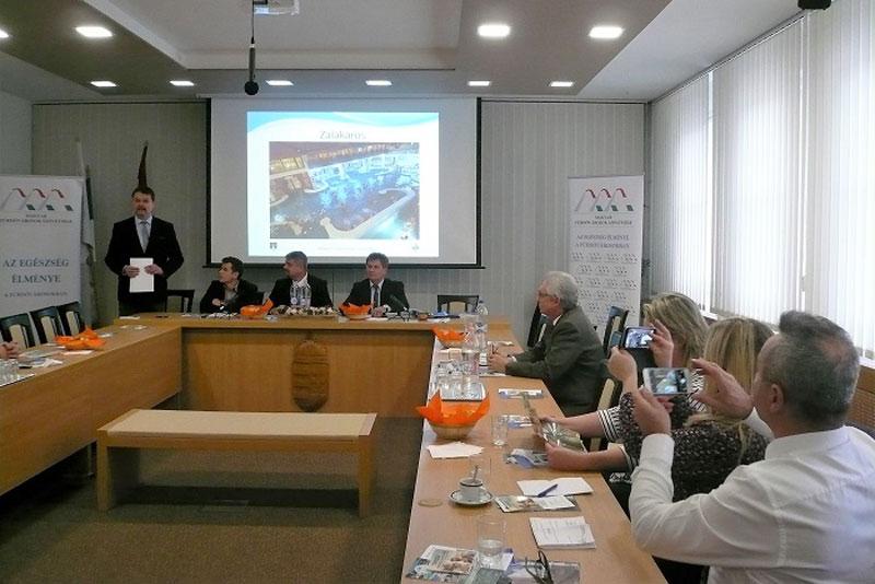 Főjegyzői és főépítészi képviselet a Fürdővárosok Szövetségének ülésén