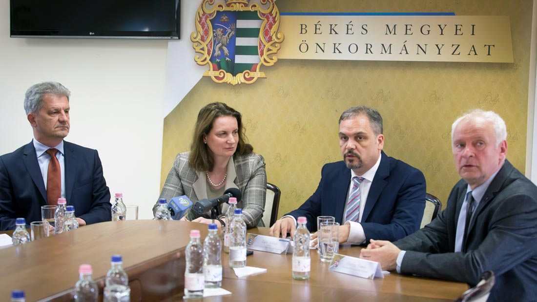 Békés megyébe látogatott az osztrák nagykövet