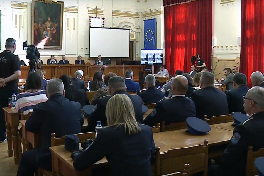 Elfogadták a rendőrség beszámolóját a szabolcsi közgyűlésen