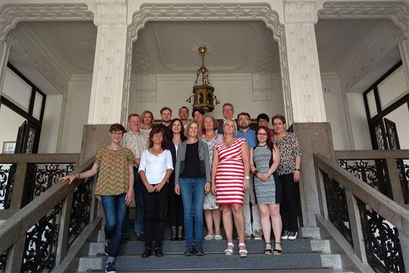 Német delegáció járt a debreceni Megyeházán