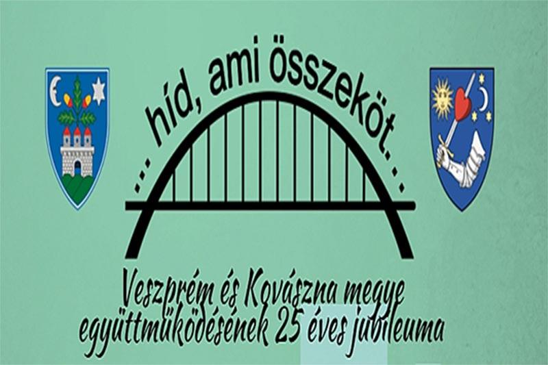 Veszprém és Kovászna megye 25 éves barátságát ünneplik