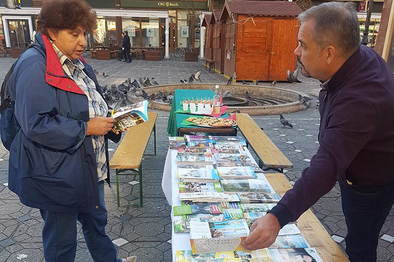 Első alkalommal vettek részt a békési önkormányzat a Temesvári Magyar Napokon