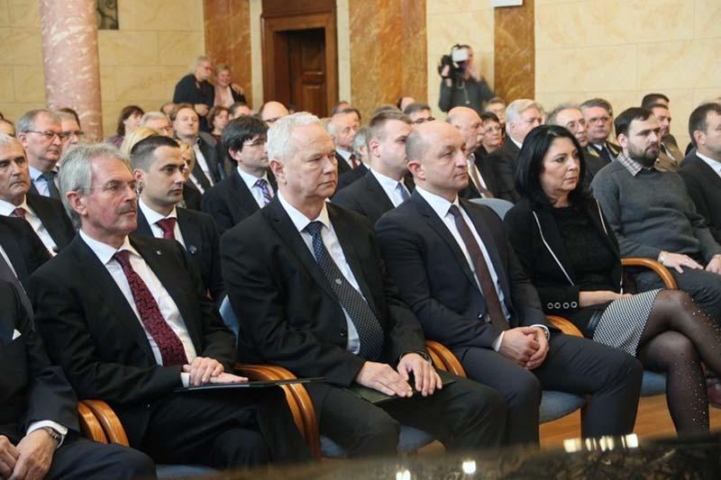 A Veszprém Megyei Közgyűlés alakuló ülésének évfordulójára emlékeztek
