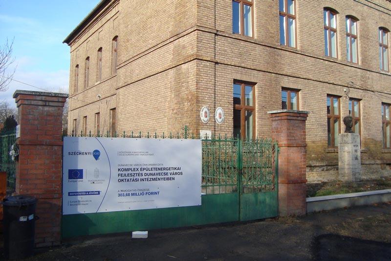 Az elmúlt száz év legjelentősebb iskolafejlesztése Dunavecsén