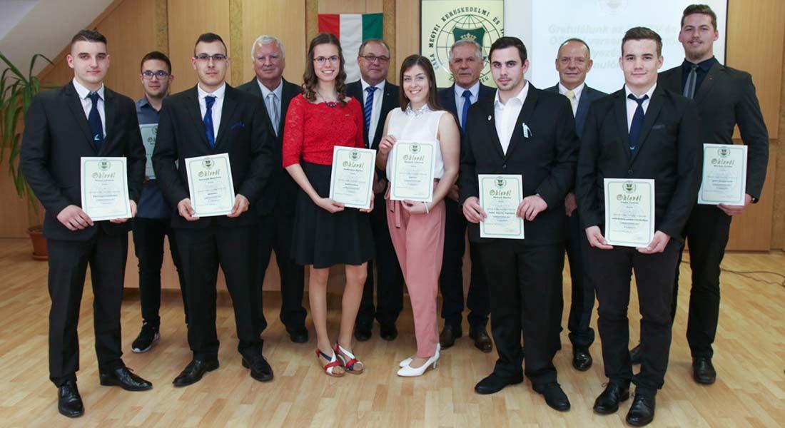 Köszöntötték a Szakma Sztár Zala megyei döntőseit