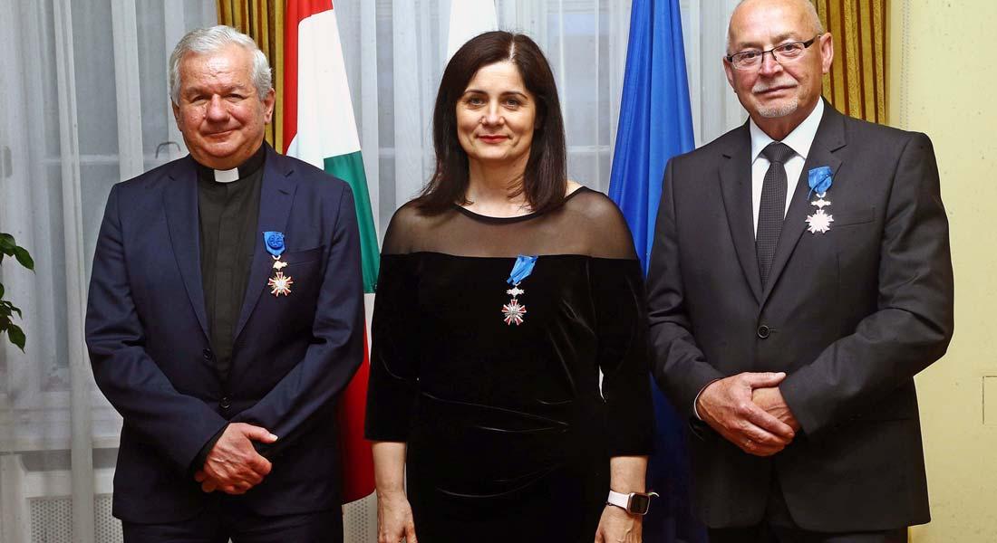 Lengyel állami kitüntetést kaptak Csongrád megye vezetői
