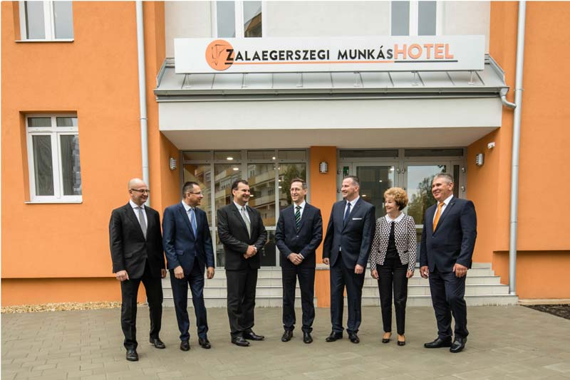 Munkáshotelt avattak Zalaegerszegen