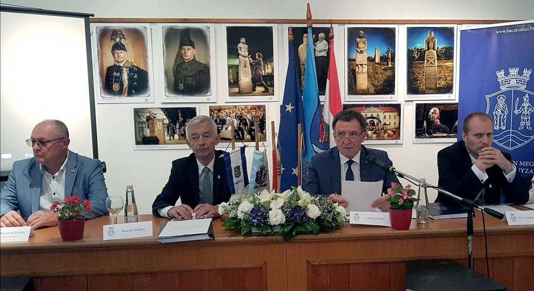 Hartán ülésezett a Bács-Kiskun Megyei Közgyűlés