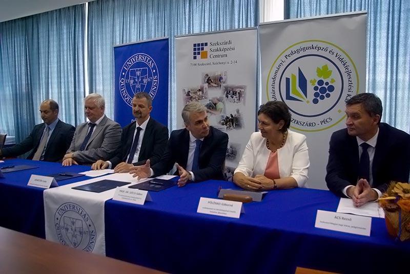 Példaértékű együttműködés Szekszárd és a térség megtartóerejének növelésére