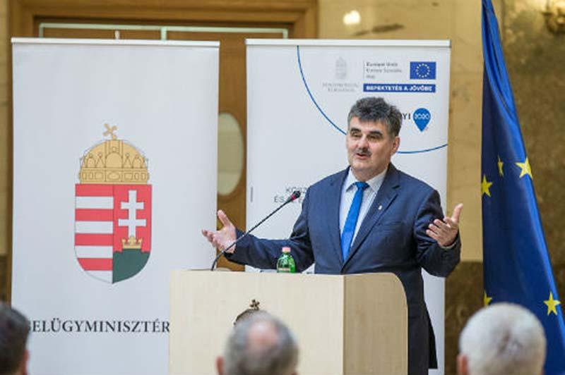 Szolgáltató önkormányzatokat díjazott a belügyminiszter