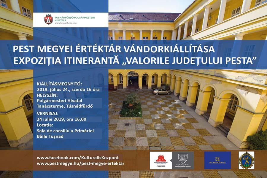Hargitában is láthatók lesznek a Pest megyei értékek