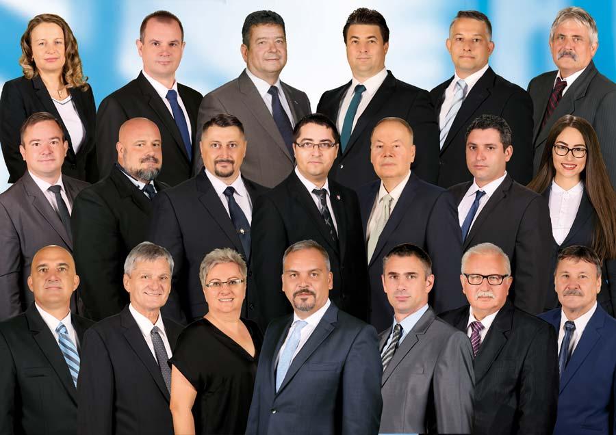 Bemutatták a Fidesz-KDNP Békés megyei listájának képviselőjelöltjeit