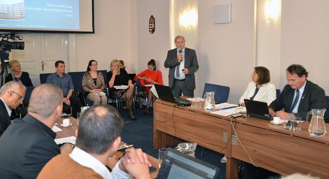 Az orvosi ellátás minőségére nemzetközi viszonylatban is büszkék lehetnek Győr-Moson-Sopronban