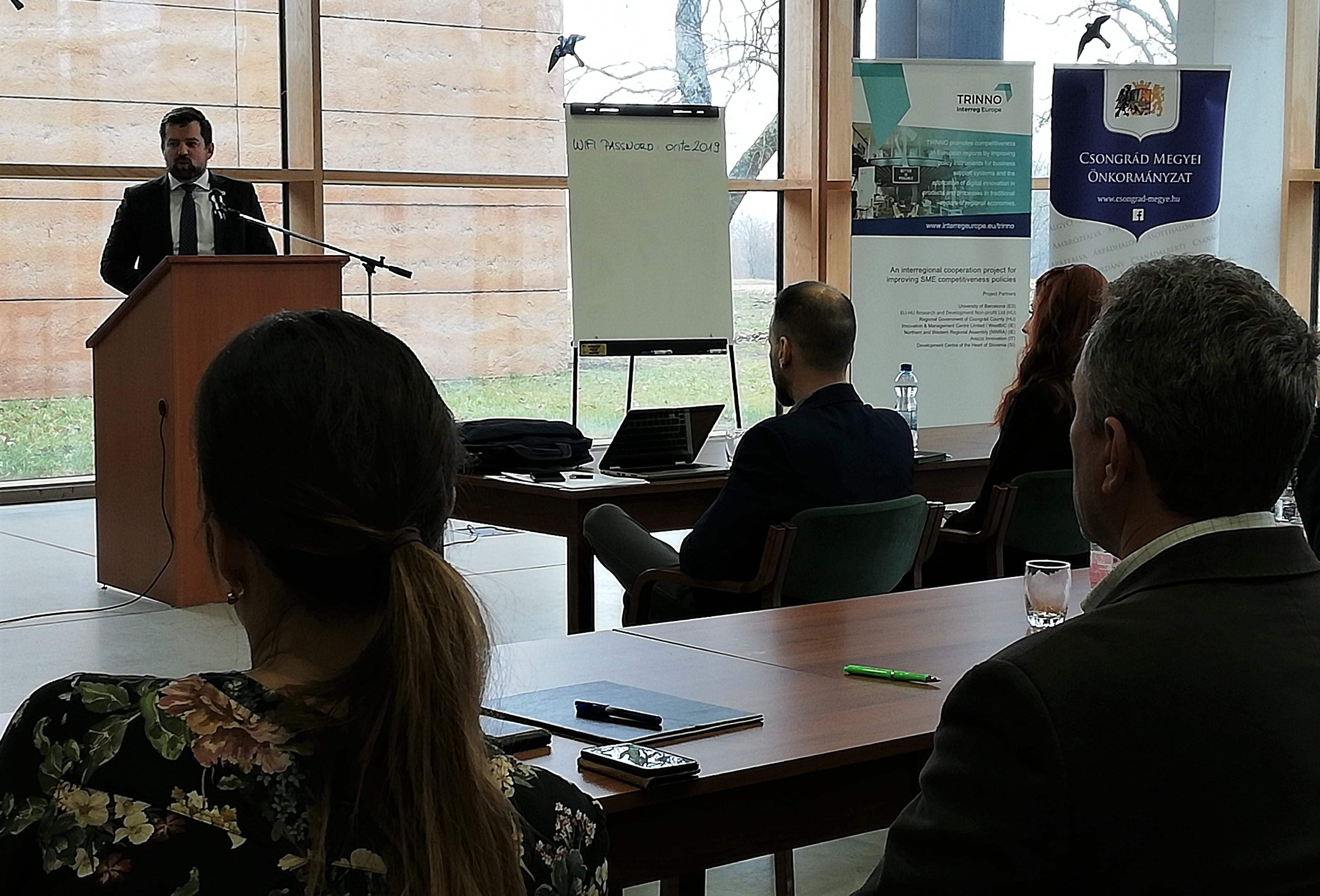 A befektetésösztönzésről tárgyalt Csongrád megye vezetése