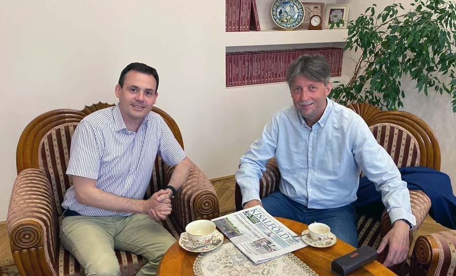 Megbeszélés a Kisalföld új főszerkesztőjével