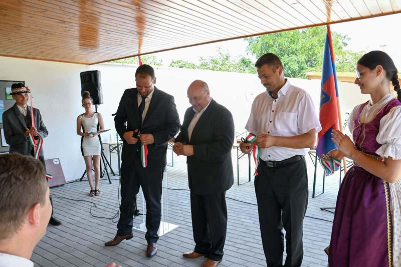 Kerékpároscentrumot avattak Szilban