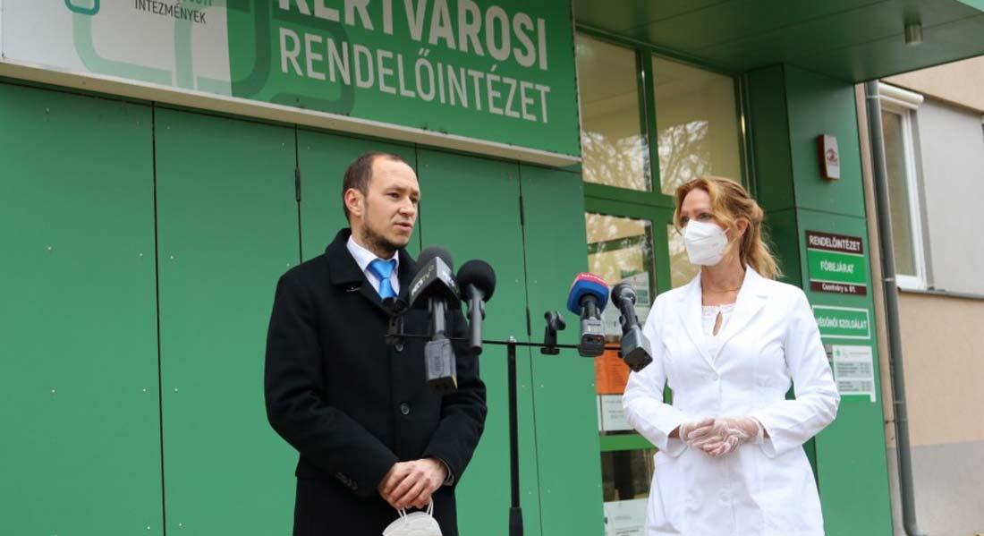 Baranya Segít Program: Közel hatezer védőmaszkot kapnak a háziorvosok