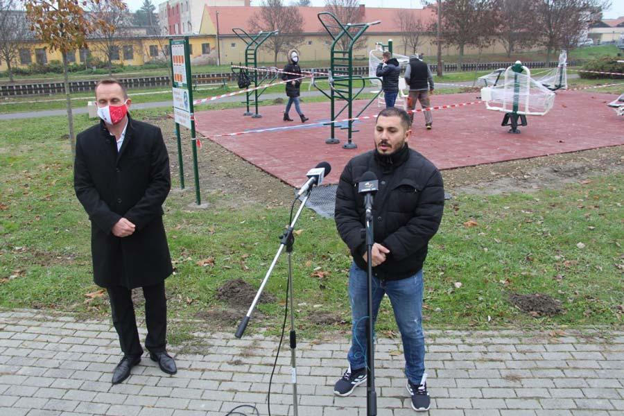 Új szabadtéri tömegsport-létesítmény Kalocsán