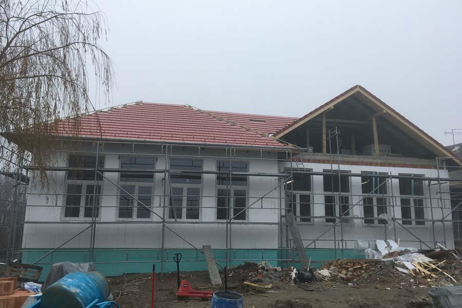 Megkezdődött Vácszentlászlón a napközi otthonos óvoda és konyha felújítása
