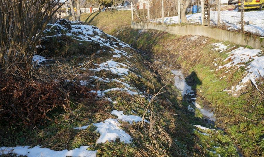 Kiépítik a csapadékvíz-elvezetést Kosdon